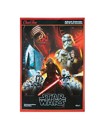 Star Wars Jungen Adventskalender - rot