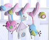 ACME-Sonaglino in Peluche a paperella passeggino letto attivit¨¤, gioco per stimolare il giocattolo non per neonato, da ragazzo, morbida, musica, Bibi con anello da dentizione immagine