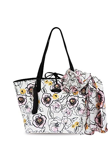 Borsa Shopping Bag L French Rose 4875 Paris Multicolor