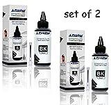 #5: ProDot RI-CISS-H13-PK Inkjet Refill Ink with SafeFill Needle for HP Printers (Black, 2X 100ml)