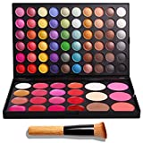 VALUE MAKERS® 82 Farbe Make up Paletten Kit - 60