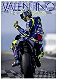 VALENTINO ROSSI CALENDAR 2018 LARGE (A3 ) SIZE POSTER WALL CALENDAR BRAND NEW & FACTORY SEALED