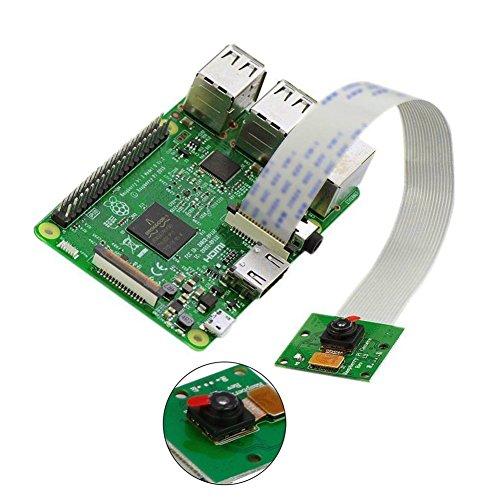 Preisvergleich Produktbild rokoo Kamera Karte Webcam 5 MP 1080P 720P für Raspberry Pi 3 & Pi 2