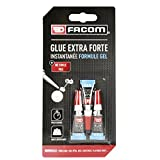 FACOM 84671 Colle cyano gel 3 x 1 g, Transparent, Set de 3 Pièces