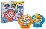 Play More Juego de Pescar Peces y Juego de los Topos con Sonido 2in1,Fishing Game Fish Toy Musical...