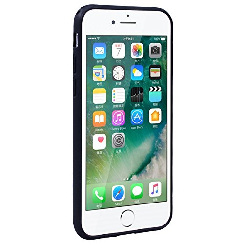 WE LOVE CASE Coque iPhone 7 Plus, Coque Transparente de Protection en Premium Hard Plastique Clair Dur Mince Coque iPhone 7 Plus Anti Choc Bumper, Anti-Rayures Anti-dérapante Coque Apple iPhone 7 Plus Plume