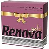 Renova serviettes de papier gold bordeaux–40serviettes–[Pack de 5]