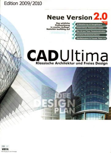 CAD Ultima 2.0 Edition 2010/2011: Architekturplanung und Modelling