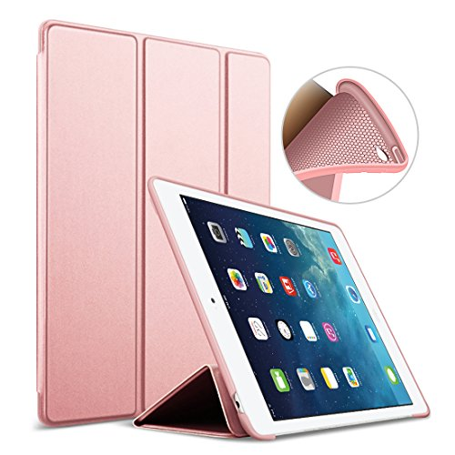 39ea855d8e9 iPad Mini 4 case, Goojodoq Smart Cover con funzione Auto Sleep/Wake in pelle