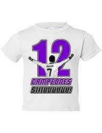 Camiseta niño Real Madrid campeones la duodécima Copa de Europa CR7 Siuu Sii Champions