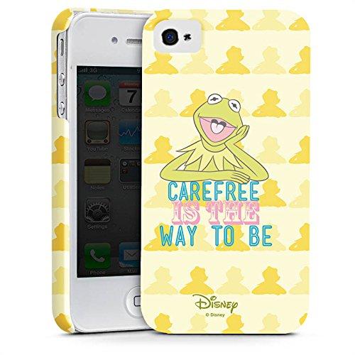 Apple iPhone X Silikon Hülle Case Schutzhülle Disney Kermit Fanartikel Merchandise Premium Case glänzend