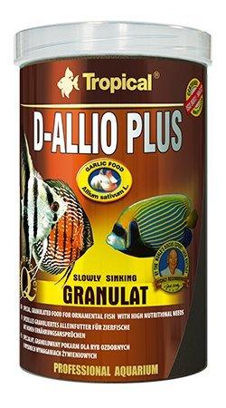D-allio Plus Gran 100 ml/60G Multi-ingredient Graine Nourriture avec de l'ail (30%) pour Discus et autres Poissons marins avec haute besoins Nutritionnels, y compris les poissons.