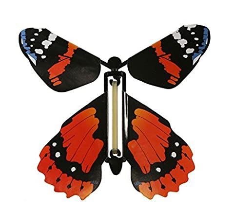 Insect Lore Rubber Band Powered Wind Up Butterfly Flying Toy by Insect Lore