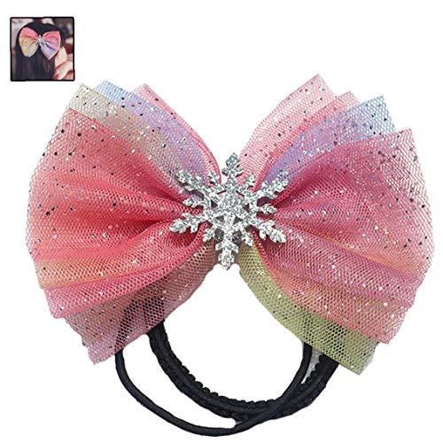 Gefrorene-Haar-Bogen-Prinzessin Haarschleife Disney Princess Bogen-Rosa-Haar-Bogen-Mint-Rosa-Bogen
