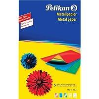 Pelikan Metallpapier 234 M/5, zweiseitig, Inhalt: 5 Blatt VE=1