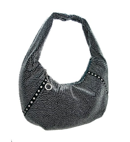 Things2die4, Borsa A Spalla Da Donna Nera Foresta Verde Bosco