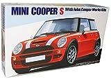 MINI COOPER NEU NEW S JOHN COOPER WORKS TUNING BAUSATZ KIT 1/24 FUJIMI MODELLAUTO MODELL AUTO