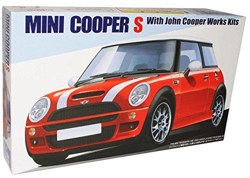 Preisvergleich Produktbild MINI COOPER NEU NEW S JOHN COOPER WORKS TUNING BAUSATZ KIT 1/24 FUJIMI MODELLAUTO MODELL AUTO