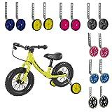 PengXiang Stützräder für Kinderfahrrad 12 14 16 18 20 Zoll, 1 Paar Sicherheitsstützräder