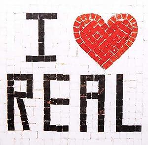 Trois petits points Kit de Mosaico Completo de Tres Puntos, Modelo Love Real-Geant+, 6192459601298, Universal