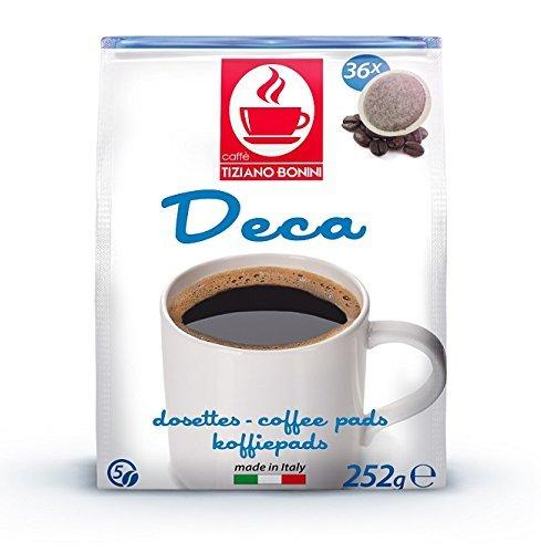 SENSEO Kaffeepads - Sorte: DECAFFEINATO (koffeinfrei) - 360 Stück (10 Pack à 36 Pads) Kompatible...