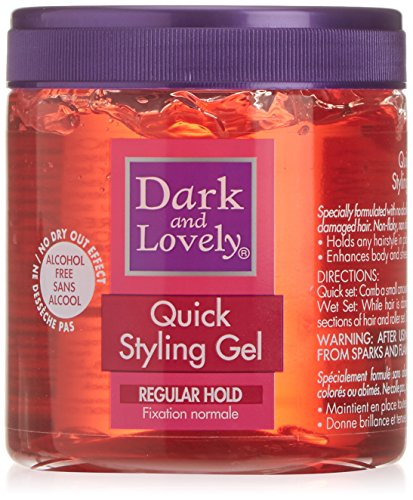 Super Hold Styling Gel (Dark and Lovely Quick Styling Gel Regular Hold 450ml)