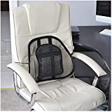 Air Flow Lumbar Support Cushion for Car Seat or Chair Back Rest (Eligible for VAT relief in the UK)