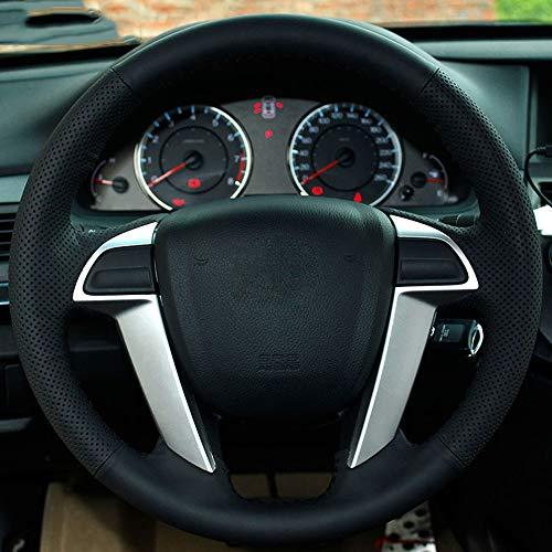 FANGPAN Kunstleder Auto Lenkradbezug, für Honda Accord 8 2008-2013