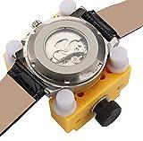 TaoNaisi orologio cassa posteriore apri rimozione di riparazione Holder (giallo)