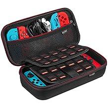 Etui pour Nintendo Switch, Keten Version la Plus Récente de la Pochette de Transport pour la Console Nintendo Switch, Jeux, Joy-Con et autres accessoires pour Nintendo Switch