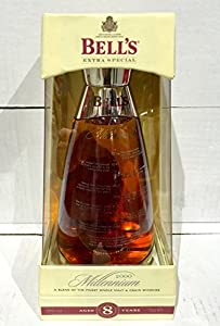 Bells 8 yo - Glass Millennium Decanter - Blended Scotch Whisky - 70 cl by Bells
