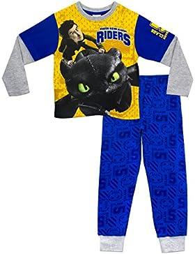 Dreamworks Jungen Drachenzähmen leicht gemacht Schlafanzug Drachen