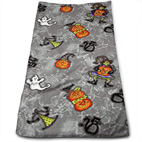 ewtretr Handtücher, Halloween Gray Cool Towel Beach Towel Instant Cool Ice Towel Gym Quick Dry Towel Microfibre Towel Cooling Sports Towel for Golf Swimming Yago Football Beach (Halloween Grays Beach)