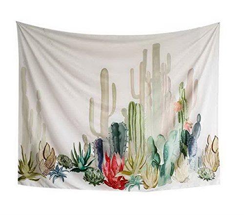Koala Superstore Nordic Ins décoratif Hanging Cloth Restaurant Boutique Room Fond Tissu Cactus