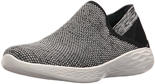 Skechers Damen You-Rise Slip on Sneaker, Mehrfarbig (Peach), 41 EU