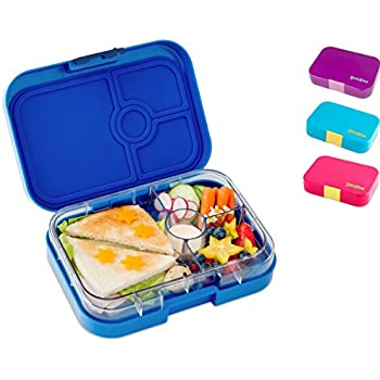 yumbox panino m lunchbox mit 4 f chern neptune blue. Black Bedroom Furniture Sets. Home Design Ideas