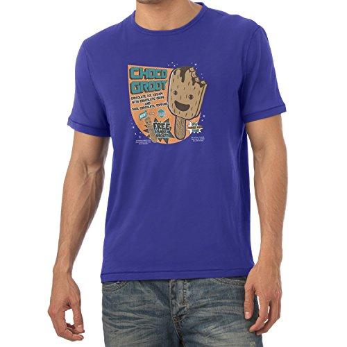 TEXLAB - Choco Groot Ice Cream - Herren T-Shirt Marine