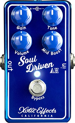 XOTIC SOUL DRIVEN AH LTD – BOOST/OVERDRIVE