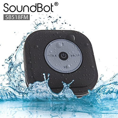 SoundBot SB518FM FM Radio Shower Speakers