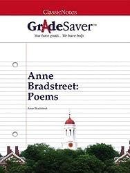 GradeSaver (TM) ClassicNotes: Anne Bradstreet Poems (English Edition)