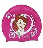 Badekappe / Badehaube _ wasserdicht _  Disney Sofia die Erste - auf einmal Prinzessin  - Silikon - 3 bis 7 Jahre - Kinder - Schwimmhaube - Duschkappe / Dusc..