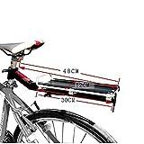 Fahrradregal, Fahrradträger für Fahrräder, Mobil für Mountainbike, aus Aluminiumlegierung, zum Transportieren von Zubehör für den Rücksitz, schnell aufgehängt