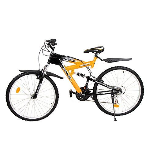 hercules roadeo turner vx 26t 18 speed mountain bike (yellow/black) Hercules Roadeo Turner VX 26T 18 Speed Mountain Bike (Yellow/Black) 51wsbeFbVgL
