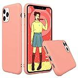 Peakally Funda iPhone 11 Pro MAX, Carcasa Coral TPU Suave Funda para iPhone 11 Pro MAX Funda Flexible Ligero Fundas [Resistente a arañazos] [Ultrafina Delgado]-Coral