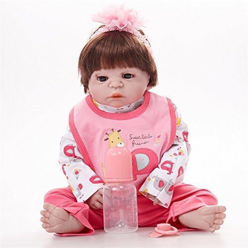 Poupon Réaliste 55cm Douce en Silicone Vinylique Magnétique Reborn Reborn Reborn Baby Dolls De Cadeaux De Jouet pour Bébés B07HVSN65C 9ca764