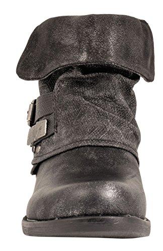 Elara, Stivali donna nero nero 36 Nero