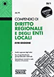 Compendio di diritto regionale e degli enti locali