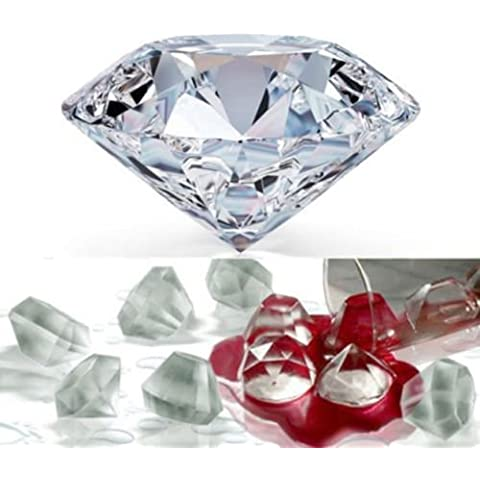 Diamond Stampo per cubetti di ghiaccio, cioccolato, sapone Stampo Diy Frozen bevande utensili da