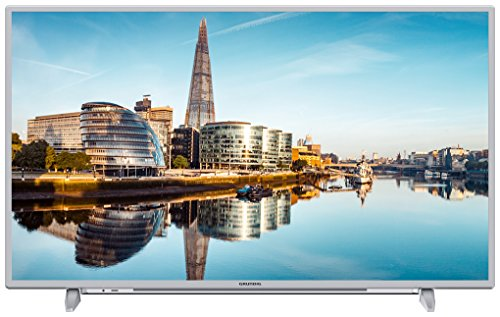 Grundig 55 GUS 8860 139 cm (55 Zoll) LED-Backlight-TV (Ultra-HD, 3840 x 2160 Pixel, 1200 VPI, Triple Tuner (DVB-T2 HD/C/S2), Smart TV), Silber