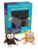 Night Monkey, Day Monkey Books & Plush Set (Book & Toy)